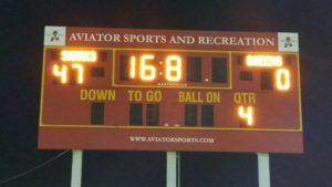 Queens Scoreboard